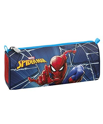 Seven Portapenne Spider Man, Rosso e Blu, Astuccio Scuola