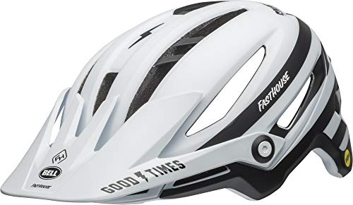 BELL Casco MTB Sixer MIPS, Unisex Adulto, Color Fasthouse Stripes, tamaño Medium/55-59 cm