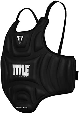OFFicial Title Boxing Discount is also underway Infused Foam Protector Body Black Influence