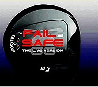 #1 Distance + Accuracy Geek Golf Fail Safe 3 (FS3) World Long Drive Golf Driver Component Head - Loft 6°, 7.5°, 9° or 10.5°