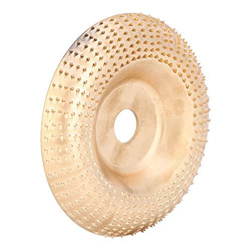 Oumefar Formación de la almohadilla redonda que forma el disco de talla redonda del disco de carpintería que forma para la muela de pulido
