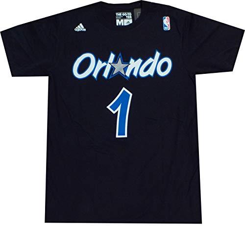 Orlando Magic Anfernee Penny Hardaway Throwback Adidas T Shirt (Large)