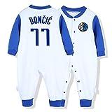 Camiseta de baloncesto Aficionado a los deportes Baby Creepers Rompers Baron Davis 3 James Harden 13 Luka Doncic 77 McGrady 1 Baron Davis 3 Dwyane Tyrone Wade 、 Jr. 3 altura del mono 59 cm-90 cm