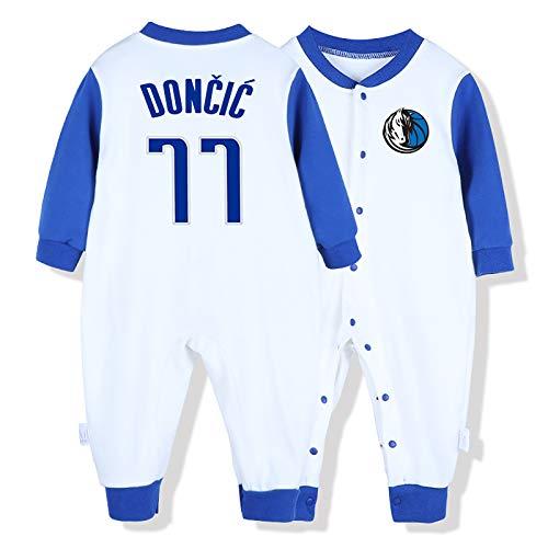 Camiseta de baloncesto NBA Aficionado a los deportes Baby Creepers Rompers Baron Davis 3 James Harden 13 Luka Doncic 77 McGrady 1 Baron Davis 3 Dwyane Tyrone Wade 、 Jr. 3 altura del mono 59 cm-90 cm