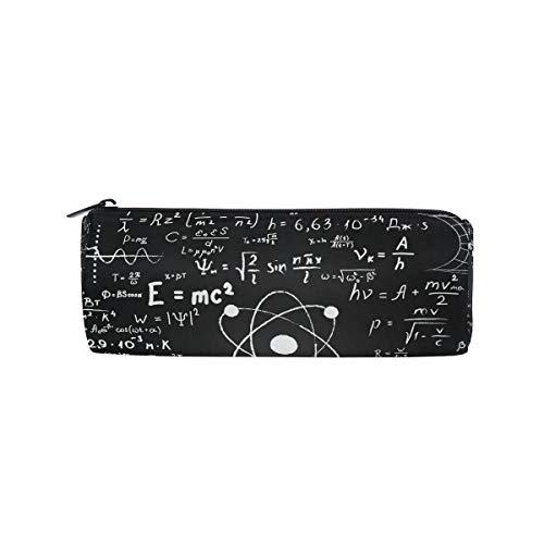 WowPrint - Astucci per matite per la chimica, matematica, formule con cerniera, portapenne multifunzione, per scuola, lavoro, ufficio, viaggi