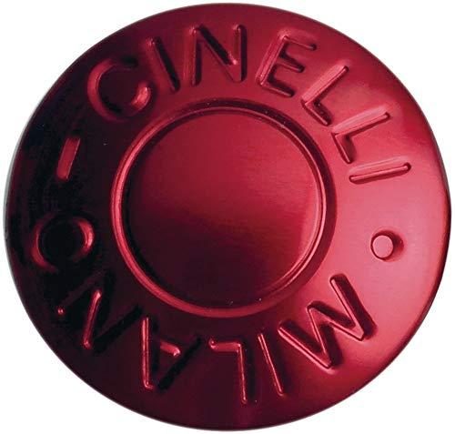 Cinelli Anodized Plugs Lenkerstopfen, rot