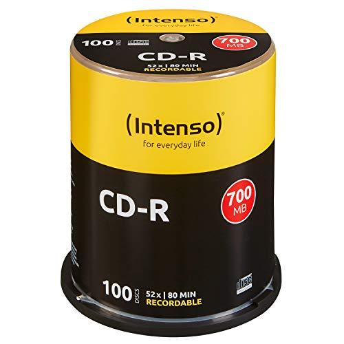 Intenso CD-R 100er Spindel 700MB Bild