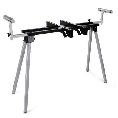 EBERTH 1600 mm Universal Maschinenständer (136 kg Tragkraft, 780 mm Tischhöhe, Rollenauflage, Füße klappbar)