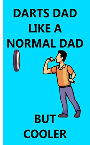 Darts Dad - Cuaderno: Planificador | Diario | Bloc de notas | Copybook | Cuaderno con...
