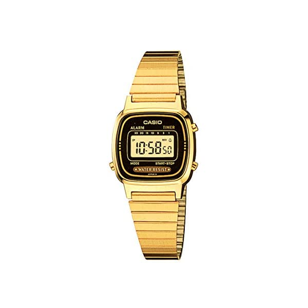 Casio watches Casio Women's Vintage LA670WGA-1DF Daily Alarm Digital