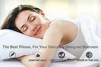Best siberian white goose down pillow Reviews