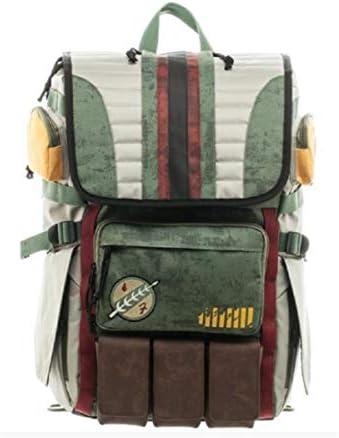 Cosplay Creative B Fett Hunter Backpack Boba Bag M Dalorian Outdoor Knapsack product image