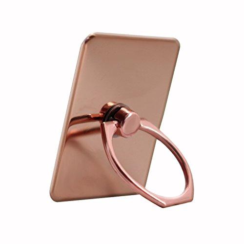 Unbekannt PH26Ring Ring Halterung für Cubot x16s Aluminium Chrom-Rotation 360° im Edlen Design mit Kleber 3m