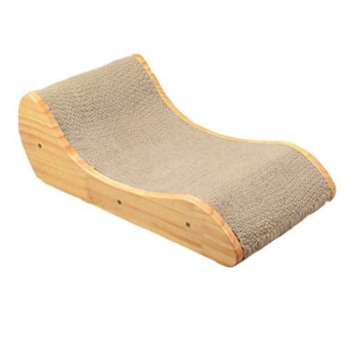 Cxjff golfkarton voor katten, krasbord, slijpnagels, interactieve beschermende meubels, kat, zonnebank, kat, speelgoed schraper