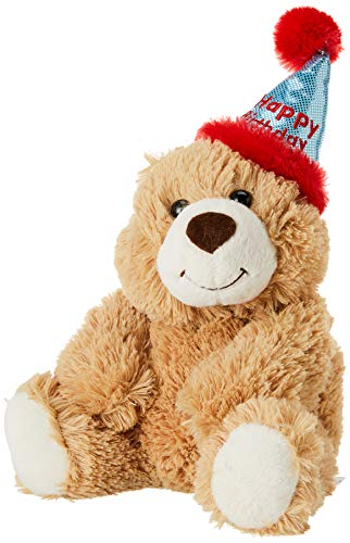 Aurora - Bear - 12' Happy Birthday Bear, Brown