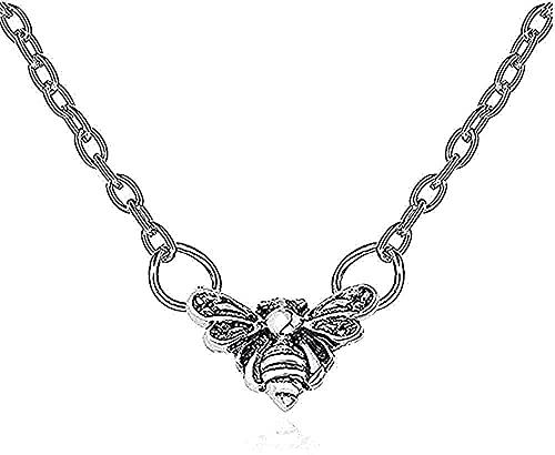 collana beiosibyw co ltd collana ape collane donna gioielli signore ciondolo ciondolo catena amanti argento colore modalità lega regalo