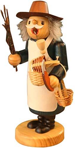 YsKYCA Estatua Escultura Decoración,Adornos Estatuas Y Figuritas Kit Figura Animal Navidad Marionetas De Humo Marioneta De Pipa Hecho A Mano Madera Artesanía Navidad Ation