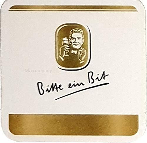 Bitburger - Bitte ein Bit - Bierdeckel Untersetzer Unterlage Pappdeckel Bierfilz - 125er Packung