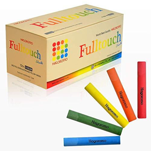 Hagoromo Fulltouch Mix 5-Color tiza 1 caja (72pcs) multicolor