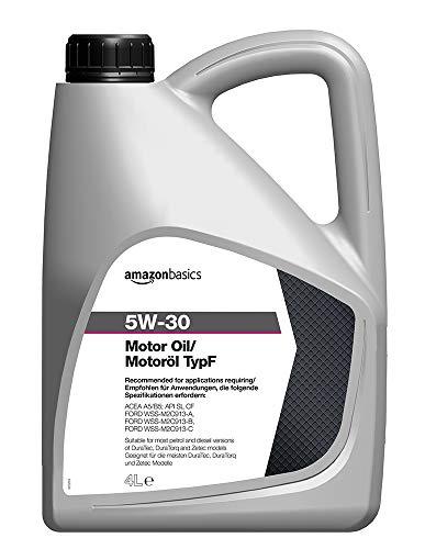 Amazon Basics – Motorenöl 5W-30 Typ F, 4 l