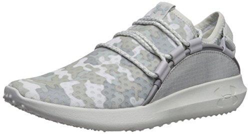 Under Armour Women's RailFit 1 Running Shoe, Overcast Gray (105)/Aluminum, 11