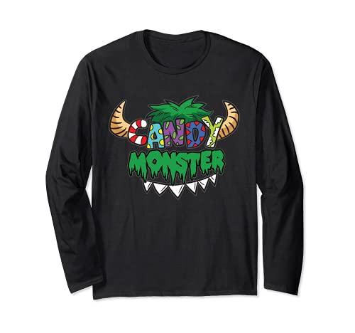 Candy Monster - Disfraz infantil San Martn Halloween Manga Larga