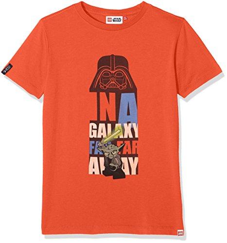 Lego Wear Jungen Lego Boy Star Wars TEO 654-T-Shirt T-Shirt, Rot (Red 297), 128