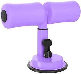 Garneck Sit-Up-Bar Verstellbar Sit-Up-Assistent Ger/ät mit Saugnapf Tragbaren Kern Bauchmuskeltrainer Sitzen auf Fu/ßhalter Sit-Up-Hilfe f/ür Heim-Fitness-/Übung Schwarz