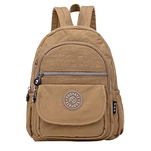 TUDUZ Damen Mädchen durchsichtigen Kunststoff durchsichtig Sicherheit transparent Rucksack Tasche Reisetasche Schultertaschen(J)