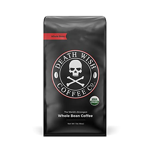 DEATH WISH COFFEE Whole Bean Coffee [16 oz.] The...