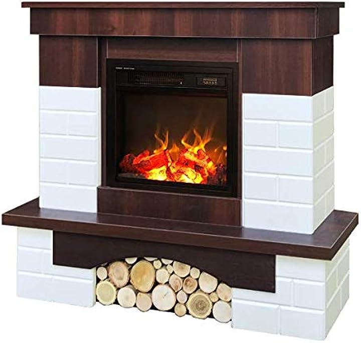 Camino elettrico leon & dionis,telecomando,termostato art flame B08KF62NQN