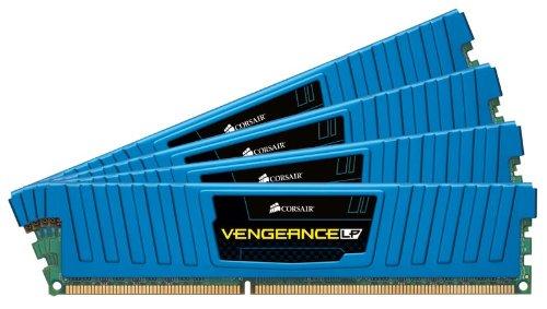 Corsair Vengeance Blue 16GB (4x4GB) DDR3 1600 MHz (PC3 12800) Desktop Memory 1.5V