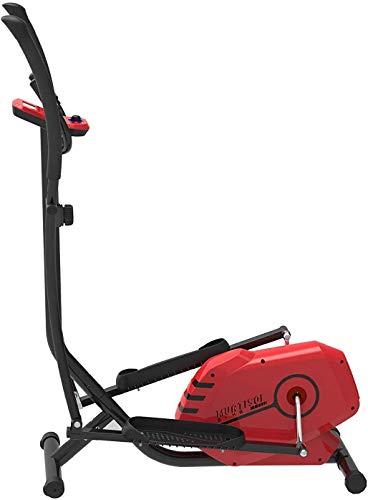 Murtisol Crosstrainer Modell E150T Sport Ellipsentrainer Plus Elliptical Machine Heimtrainer mit Trainingscomputer,Handyhalter,Handpulssensoren