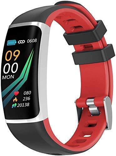 ~ Bluetooth Smart Uhren Wasserdicht IP67 intelligente Uhren Pedometer, Aktivität Trackers Schrittzähler Fitness Trackers Eignung-Uhr mit Herzfrequenzmesser Uhren for Männer Frauen Kinder (Farbe: C) XI