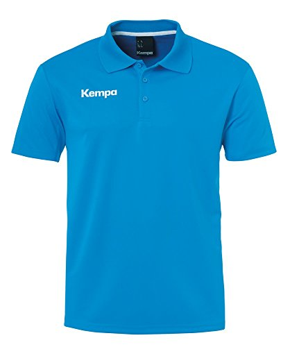 FanSport24 Kempa Handball Polyester Poloshirt Herren blau Größe XXXL