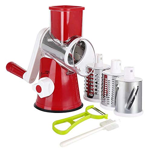 ADC Rotating Vegetable and Fruit Cutter Slicer Shredder Cheese Kitchen...