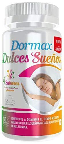 Dormax Dulces Sueños con 1,8 mg de melatonina - 120