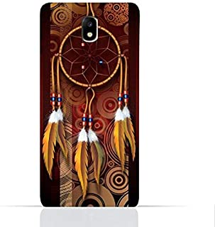 Samsung Galaxy J7 2017/J7 Pro TPU Silicone Case With American Feathers Design