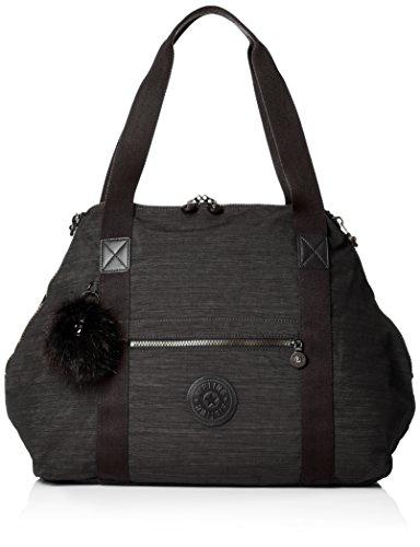 Kipling Art M reistas, 45 cm, zwart (True Dazz Black)