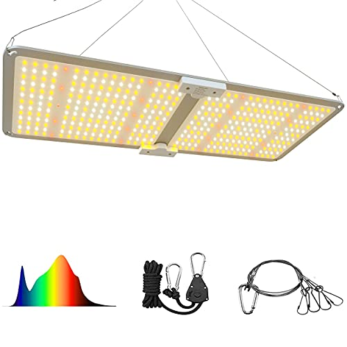MAGLONG 2020 Upgrade M2000 Led Grow Light - with Samsung LED Chips & Mean Well Driver, Quantum Board Plant Grow Lights and Dimmable Function for Hydroponic Indoor Seeding Veg and Flower Greenhouse