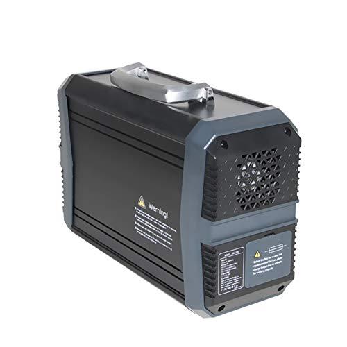 Portable Solar Generator AC/DC 300W/500W/1000W Notstromversorgung Ersatz Notfall Batterie Mit Großer Kapazität Im Freien Solarbatterie (Color : 500W)