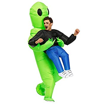 Kooy Inflatable Alien Costume for Adult  Adult - Et Alien