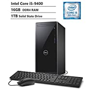 2019 Dell Inspiron 3670 Desktop, 9th Gen Intel Core i5-9400 Six-Core Processor, 16GB RAM, 1TB SSD, WiFi + Bluetooth…
