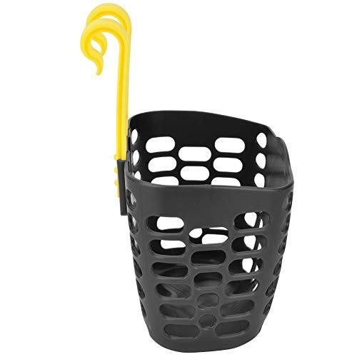 Ponacat Fahrradkorb Kinderfahrrad Vorne Lenker Frachtkorb Niedlichen Cartoon Roller Hinten Hängenden Mesh Rack Kunststoffhalter Einkaufsbox