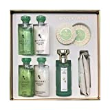 BVLGARI EAU PARFUMÉE AU THE VERT GUEST SET 9 PCS. (75 ML EDC + SHAMPOO-S/G+B/L-TOWELS-SOAP)