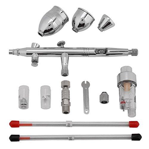 Kit de Pistola de pulverización, Pistola de aerógrafo Resistente al Uso, Maquillaje casero multifunción para Pintar en el Trabajo de Pared de Modelo de