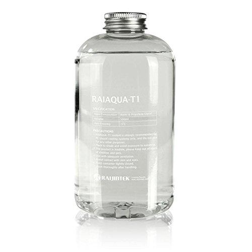 Raijintek - Líquido refrigerante anticongelante Raiaqua-T1 - Protección contra la corrosión y la cavitación - El mejor socio para su PC