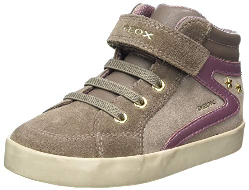 Geox Baby-Mädchen B Kilwi Girl F Sneaker, (Lt Taupe), 20 EU
