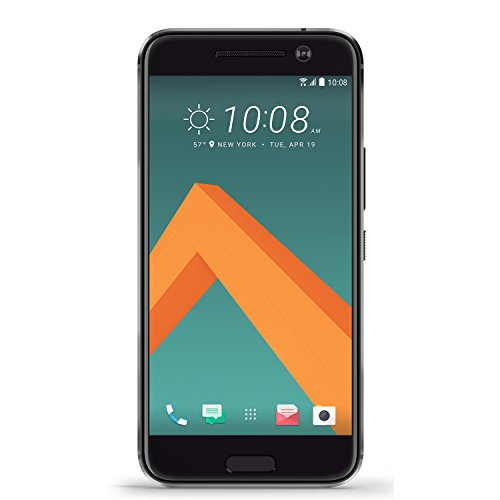 HTC 10 32GB Carbon Grey, 5.2-Inch, 12MP, GSM Factory Unlocked International Version, No Warranty