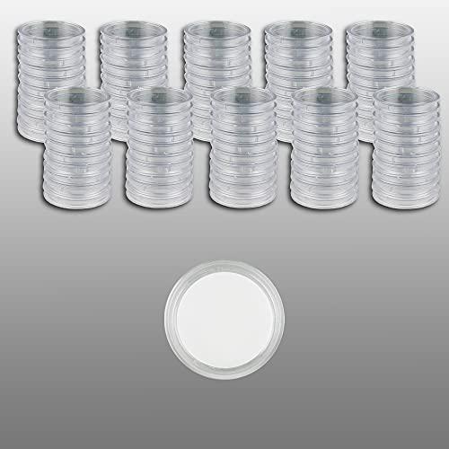 Prophila Cápsulas para Monedas diámetro 26 mm Paquete de 100